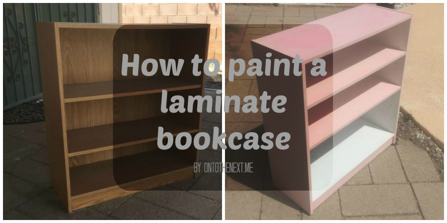 How to Paint a Laminate Bookcase