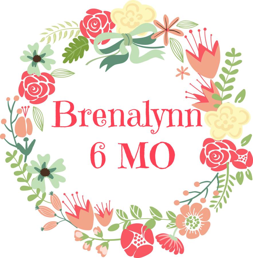 Brenalynn Update – 6 MonthsOld